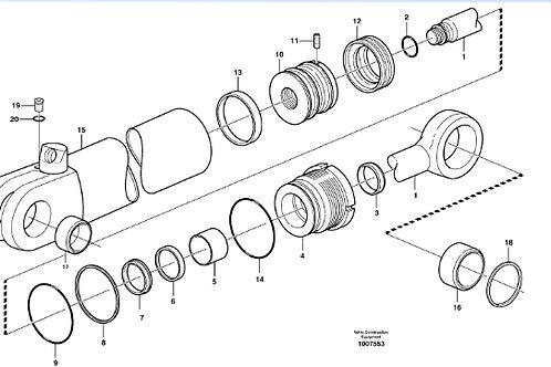 Seal Kit P/N11709543