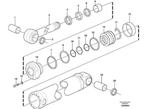 Seal Kit Lift P/N 11709832