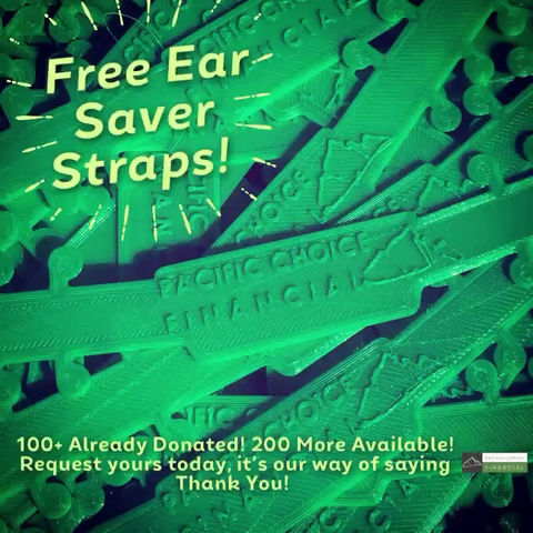 More Free Ear Savers Up For Grabs! Thank you to all essential workers