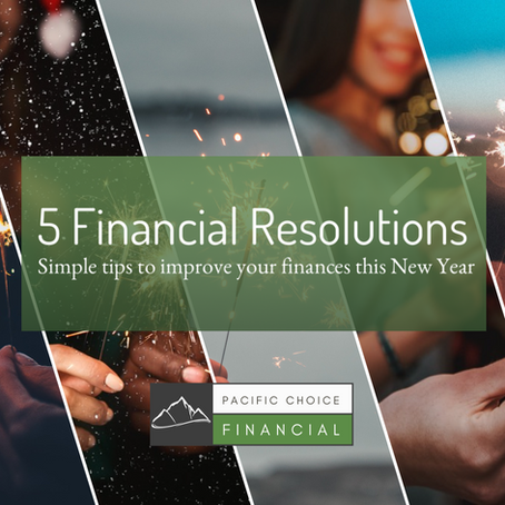 5 Financial Resolutions To Improve Your Financial Health