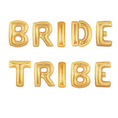 bride tribe balloon