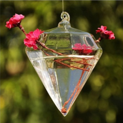 Diamond Hanging Glass Globe