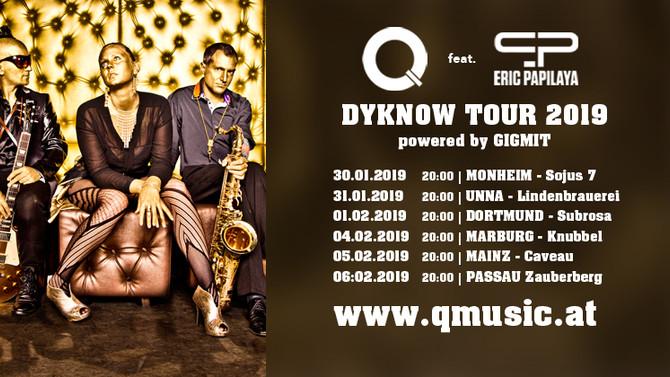 Q feat. Eric Papilaya auf Deutschlandtour