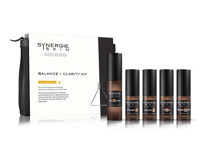 synergie skin - balance + clarity kit.jp