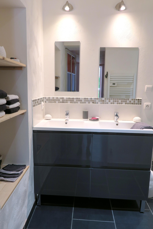 Gite Romeyer 2ème salle de bain