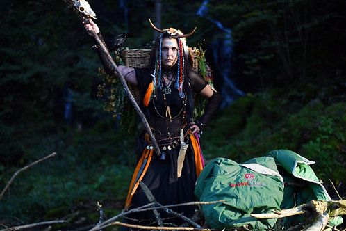 Diese Hexe steht auf den Nature