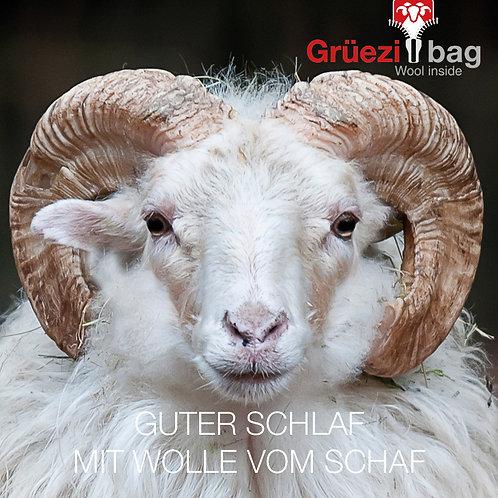 Image-Flyer zum Thema Wolle