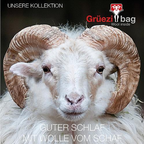 Grüezi bag Kollektion mit Wolle
