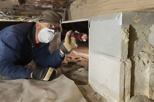 Crawl Space Restoration - Before
