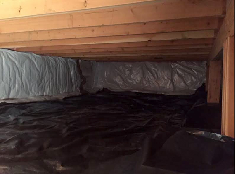 Crawl Space Restoration - After