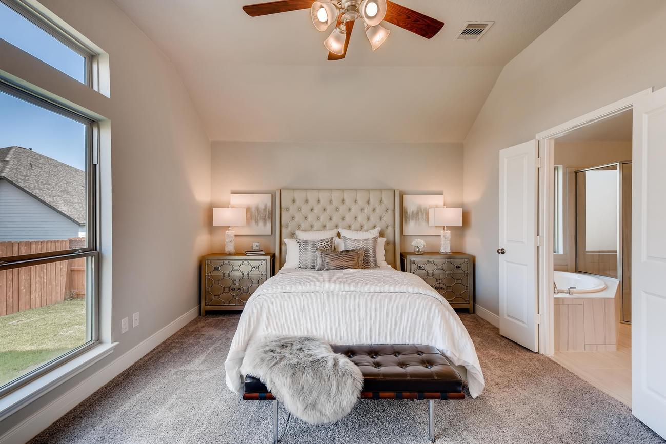 Staged - Master Bedroom