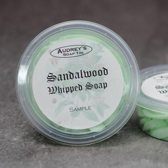 Sandalwood Whipped Soap Sample
