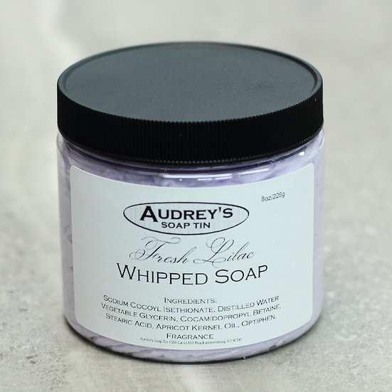 Fresh Lilac Whipped Soap