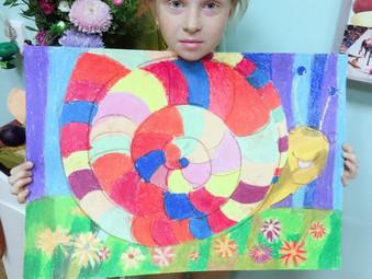 Работы учеников школы рисования Гамма.