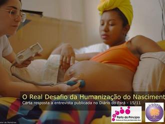 O real desafio para a humanização do nascimento