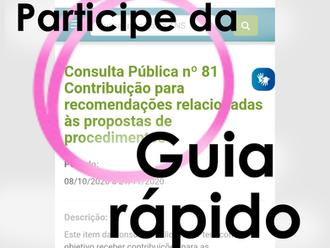 Consulta Pública 81 - DUT cesariana