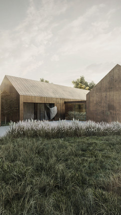 Modern barn- visualization