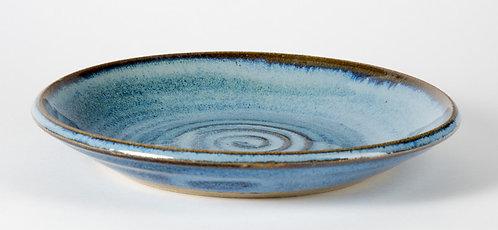 9 inch cobalt blue plate