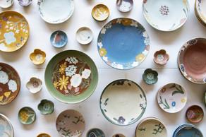 とてもきれいで可愛らしくて美しい、沖澤真紀子さんの個展、はじまりました!