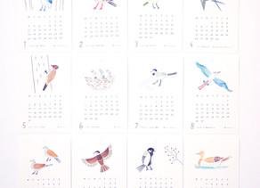 ノラヤさんのカレンダーとポストカードが届きました。