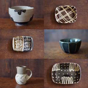 山根窯/石原幸二さんの作品をオンラインショップにアップしました。