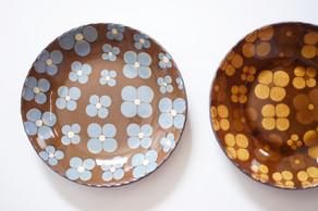 様々な模様や色で展開されている美しい作品は、どれも実用的で日常使いとして楽しめるうつわたちです。久保田健司さんの個展、開催中です!