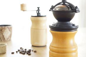 挽きたての香り豊かな珈琲が楽しめます。