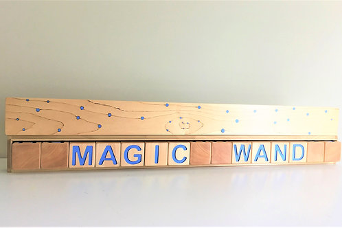 """In the Light of the Suns Magic Wand"" Block Box"