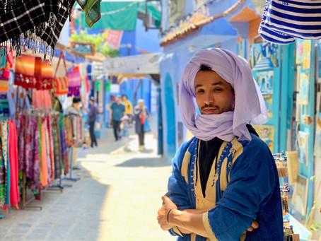 Chefchaouen - modré město na severu Maroka