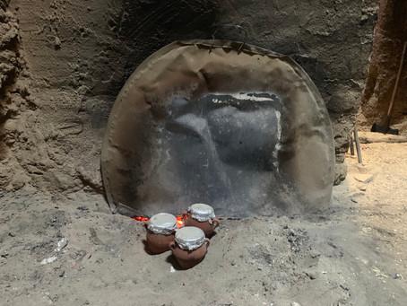 Tanjia, marakéšská specialita! Maso pečené v peci vytápějící městské lázně!