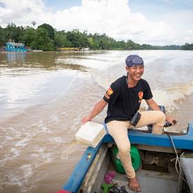 Borneo - Kinabatang river