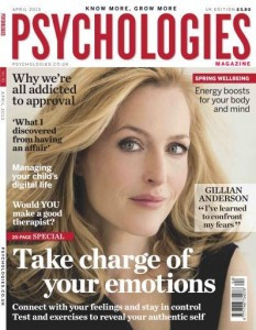 Psychologies magazine April 2013