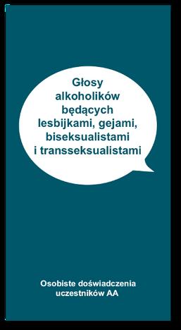 Głosy alkoholików będących lesbijkami, gejami, transseksualistami i biseksualistami
