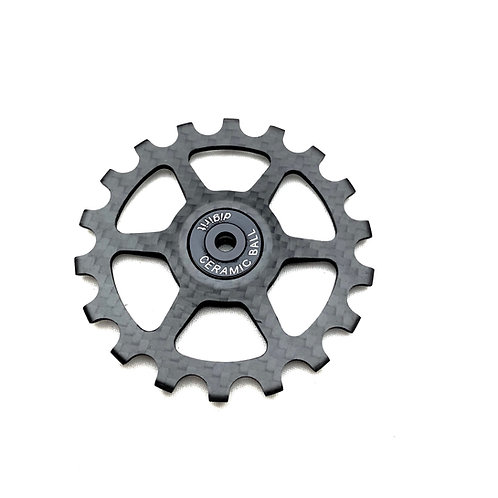 Carbon Pulley 18T - 19T