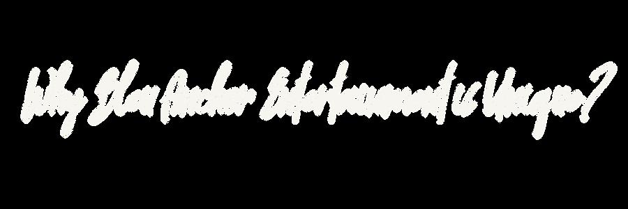Why Bleu Anchor Entertainment is Unique.