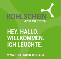 Textilgrafik KOHLSCHEIN|Messe mit System Mobile Messesysteme mit Beleuchtung