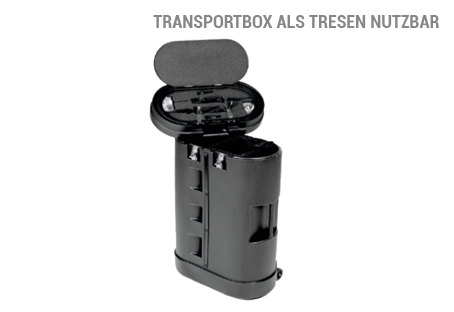 POP UP Magnetic Transportbox für faltbare Messewand