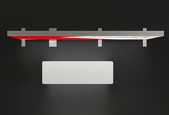 K-Profil 4 x 3 m Kopfstand