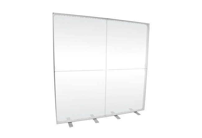 LED-Messewand leer K-Box-Alu 200x200 cm