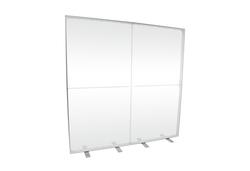 LED-Messewand leer K-Box-Alu 200x200 cm