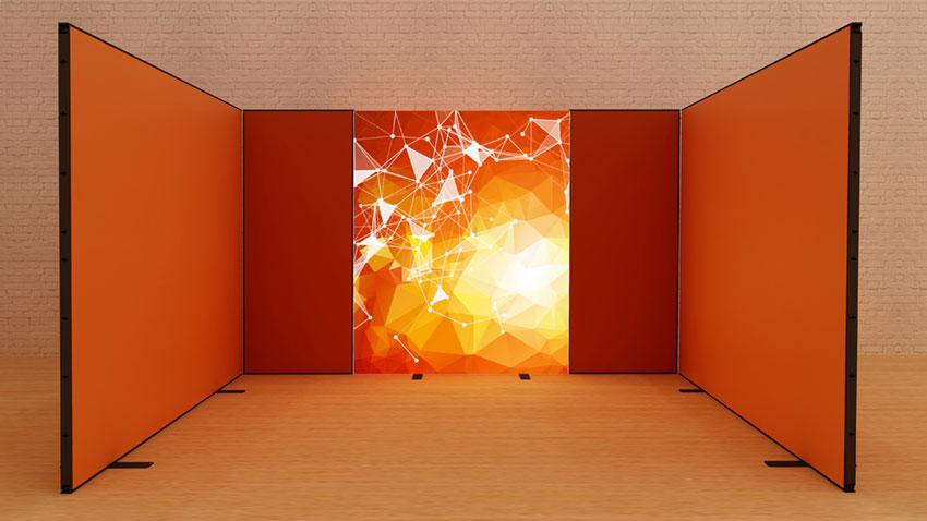 Kluban LED-Reihenstand 4x3 m