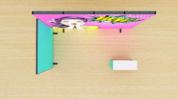 Kluban LED Minimessestand mit Theke - ideal für Einsteiger
