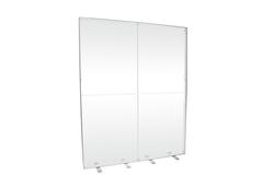 LED-Messewand leer Kohlschein-K-Box-Alu für Tuchbespannung 200x250 cm