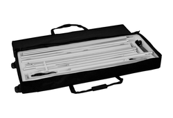 LED-Messewand-Kohlschein-K-Box-200x200-Transporttasche mit Rollen