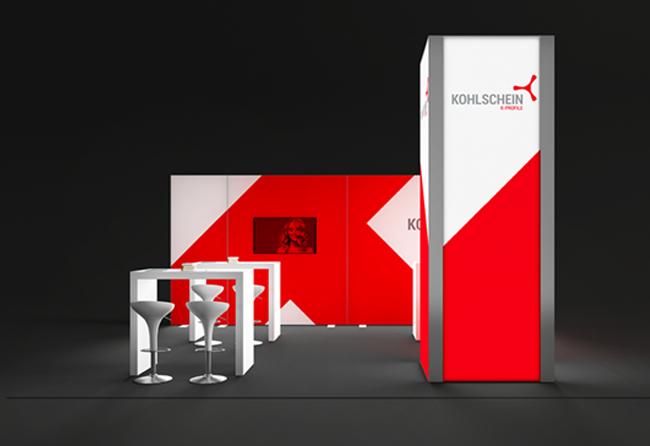 K-Profil 6 x 5 m Kopfstand