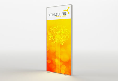 KOHLSCHEIN | MESSESTAND - Messesystem PIXLP GO, Light Box 1025, Leuchtwand, LED Messewand, Leuchtsteele, Mobile Leuchtwand, Leuchtmessestand, Leuchtdisplay, Preis für PIXLIP GO Messewand