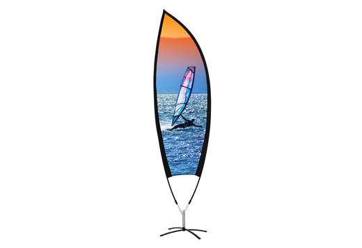 Kohlschein-Beachflag-Leaf-Motiv-Abenddae