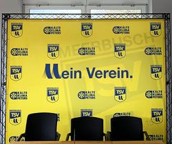 TSV Meerbusch Mobile Messewand Messetraverse Sponsorenwände by KOHLSCHEIN-Mobile Messesysteme