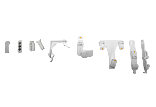 LED-K-BOX-Verbindungselemente