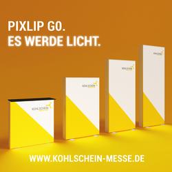 Pixlip Go Messetresen und Leuchtmessewände von KOHLSCHEIN - Messe mit System
